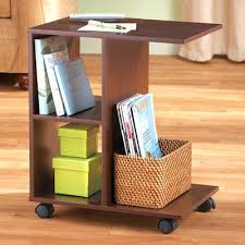 Changing Table Side Organizer Changing Table Side Organizer Chair Mens Bedside Rolling Shelves