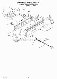 whirlpool cam2742tq2 parts list and diagram ereplacementparts com