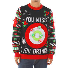 booze themed christmas sweaters you need for your holiday party