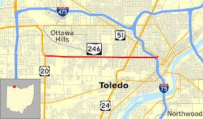 Ohio State Campus Map Ohio State Route 246 Wikipedia