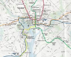 Dc Metro Map Silver Line by Map Of Dc Subway System My Blog