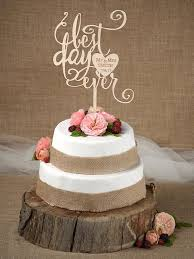 best cake toppers rustic cake topper wedding custom cake topper wood cake topper