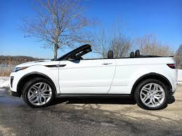 land rover convertible 4 door evoque crossover convertible built to go anywhere except my
