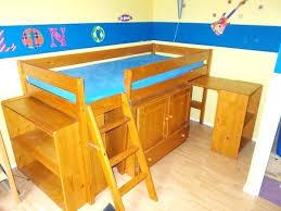 bureau pin miel bureau pin miel bureau lit mezzanine bureau pin massif occasion