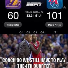 Clippers Memes - clippers crushed the lakers http weheartnyknicks com nba funny