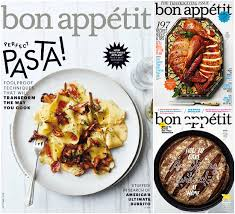 bon appetit magazine subscription 3 91 a year limited time