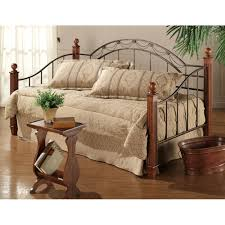 camelot iron u0026 wood daybed in black gold cherry humble abode
