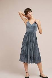 silver flowy dresses u0026 casual dresses anthropologie
