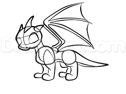 how to draw a baby dragon step 5 drawing ideas pinterest