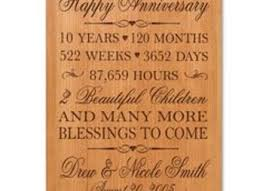 10 year wedding anniversary gifts 9 10th wedding anniversary gift ideas for 10th anniversary