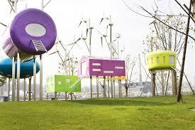 Park Design Ideas Wood Pavilions In Bailianjing Park Design By Taranta Creations