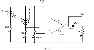 bidirectional visitor counter circuit using 8051 microcontroller