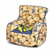 minions mini bean bag sofa chair walmart com