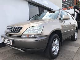 lexus genuine parts uk used lexus rx 300 suv 3 0 se 5dr in norwich norfolk ber street