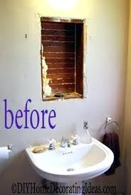Decorating Ideas For Bathroom Mirrors Diy Small Bathroom Decorating Ideas Justget Club
