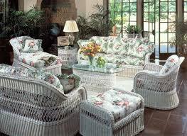 the flexible and light white wicker furniture boshdesigns com