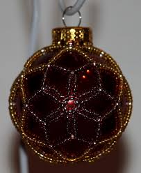 free beaded victorian ornaments patterns christmas royale