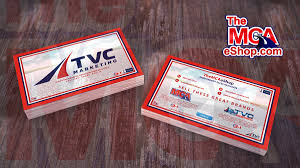 Business Cards 2 Sided Tvc Marketing Stylish Business Cards 2 Sided Design Mcashop