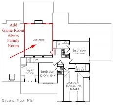 Game Room Floor Plans Raleigh New Homes With Three Car Garage The Statesboro