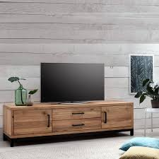lowboard antik tv lowboard bestano 200 x 50 x 55 cm eiche massivholz