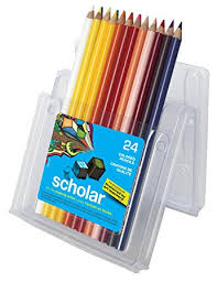 prismacolor 92805 sanford scholar colored pencils 24