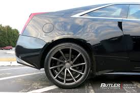 cadillac cts coupe rims cadillac cts v coupe with 20in vossen cvt wheels exclusively from