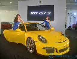 porsche malaysia launch 2014 porsche 911 gt3 rm1 2 million base price wemotor com