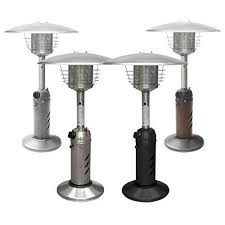 Table Top Gas Patio Heater Thermo Tiki Premium Tabletop Propane Outdoor Patio Heater W Cover