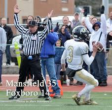 thanksgiving day sports mansfield vs foxboro thanksgiving day football nov 24 2016