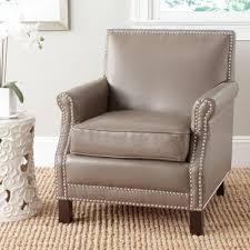 safavieh easton clay bicast leather club arm chair mcr4572g the