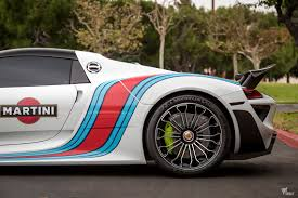 martini porsche 918 double martini treatment for this porsche 918 spyder rennlist