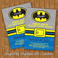 smurfs baby shower invitations batman baby shower invitations diy printable by jayarmada2 on etsy