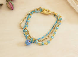 diy chains bracelet images Diy multi strand chain summer bracelet pandahall beads jpg