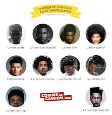 trouver sa coupe de cheveux homme 10 idées de coiffure pour cheveux afro