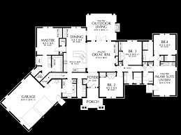 In Law House Plans Mascord House Plan 1248a The Bishop