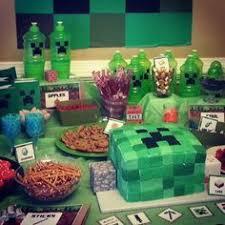Minecraft Party Centerpieces by Minecraft Party Lolly Buffet Minecraft Pinterest Lolly Buffet