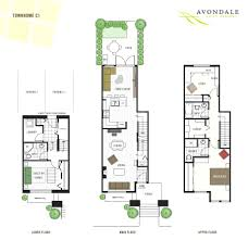 house plan this avondale floor is one of the best family townhouse