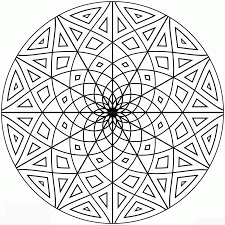 buddhist mandala coloring pages kids coloring