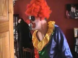 happy birthday creepy clown scary timbo the evil clown kids birthday party 2011