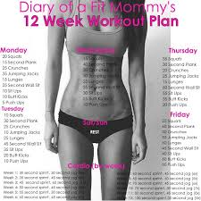 workout plan for beginners at home diary of a fit mommy12 week no gym home workout plan diary of a