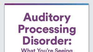 auditory processing disorder vs listening comprehension what u0027s