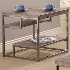 wood and metal sofa table black metal end table steal a sofa furniture outlet los angeles ca