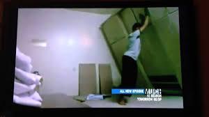 bookcase falls on man youtube