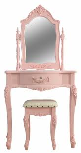 Vanity Table Set For Girls Shabby Chic Pink Girls Dressing Table U0026 Stool Set Sophie Pink