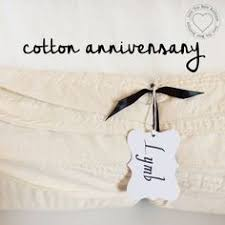 cotton gifts personalized anniversary gift for husband second wedding