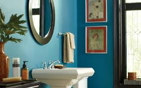 Painting Ideas For Bathroom Walls Colors Bathroom Paint Color Selector The Home Depot