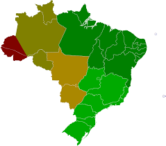 Map Of Us Time Zones by Time In Brazil Wikipedia