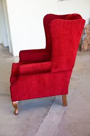 Winged Chairs Design Ideas Chair Design Ideas Stunning Luxurious Red Wingback Chair Red