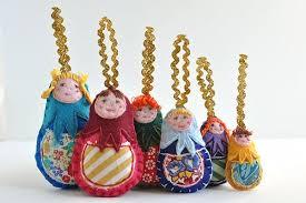 mad mim diy felt matryoshka doll ornaments 2