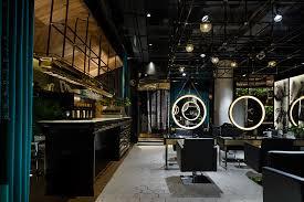 Latest Barber Shop Interior Design S5 Design Creates A Moody Punk Interior For Barber Shop In Wuxi China